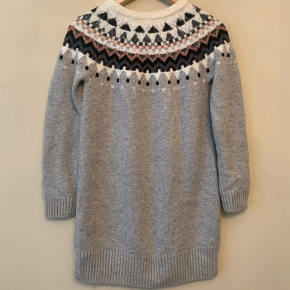 GAP Other - Gap Girls Gray Sweater Dress